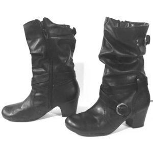 Other - Little girls black dressy heeled boots